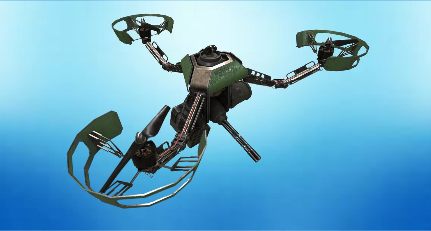 army drone m3-17 3d max
