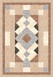 3d marble tile model