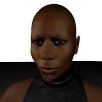3d skin singer skunk anansie model
