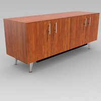 tv stand cabinet 3d model