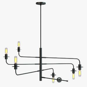 sonneman atelier light 3d max