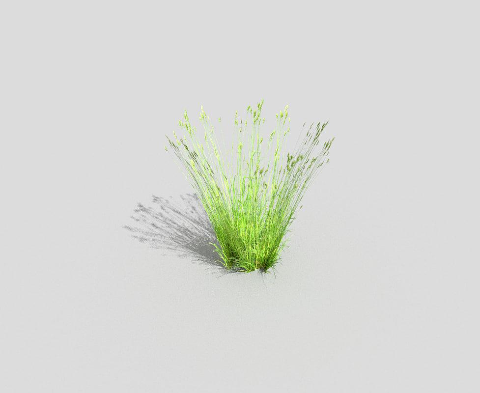 grass 3d 3ds