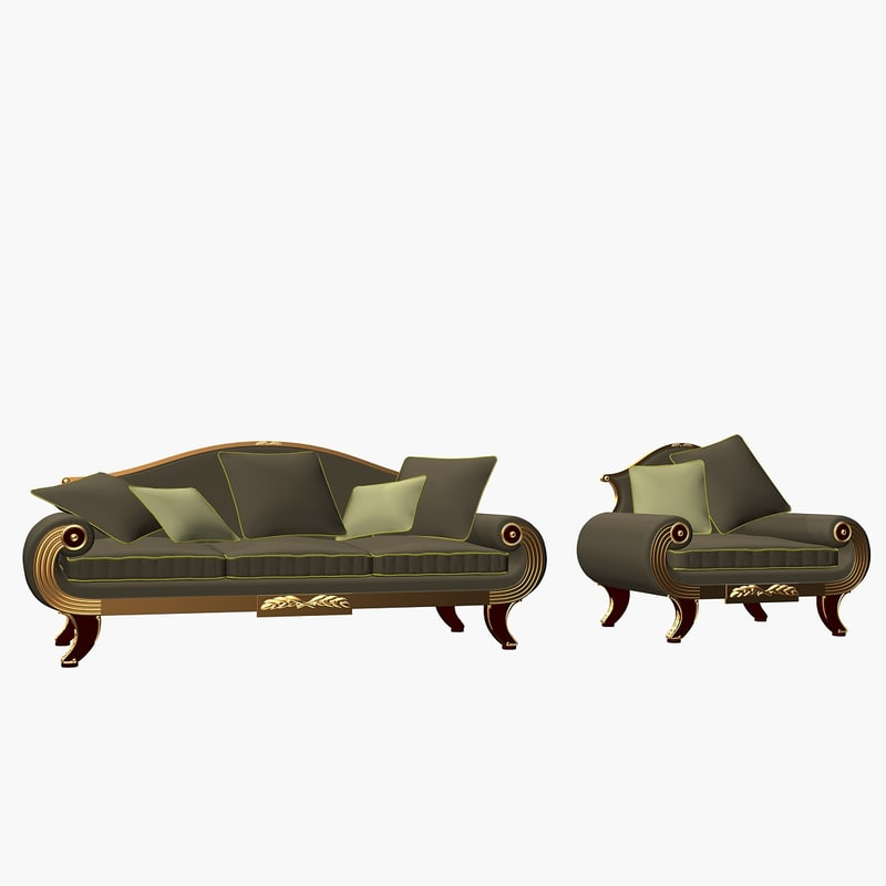 3d model sofa alexandra