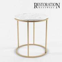 restoration hardware nicholas 3d model