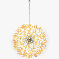 3ds modern crystal chandelier astro