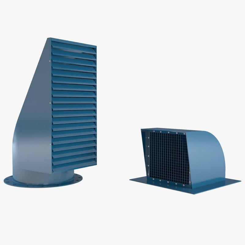 aeration nozzles 3d max