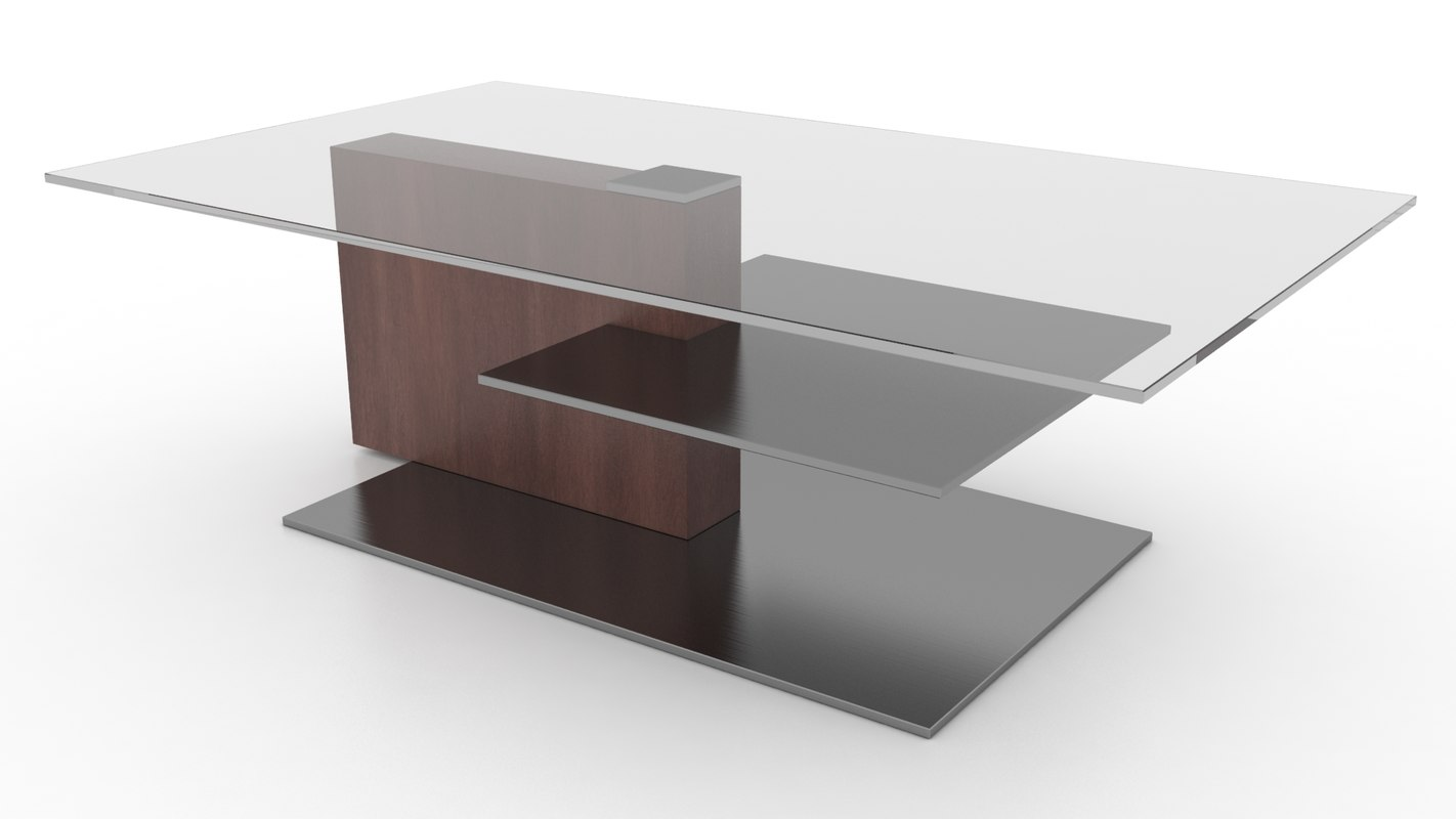 freya coffee table 3ds