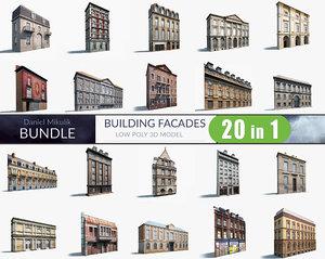 3d model facades