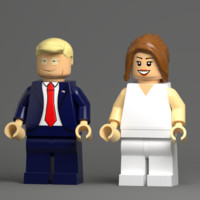 trump blender 3d 3ds