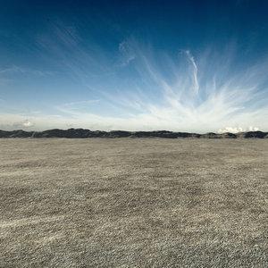 3d desert landscape 2 model