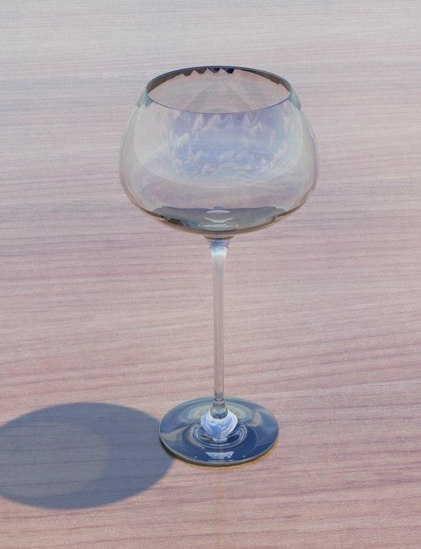 3d glass model
