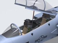 F-15E cockpit.