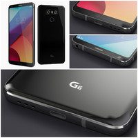 new lg g6 black 3d 3ds