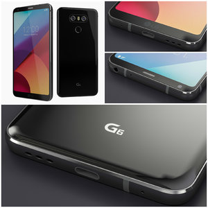 new lg g6 black 3d 3ds