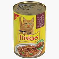 Friskies Tin Can