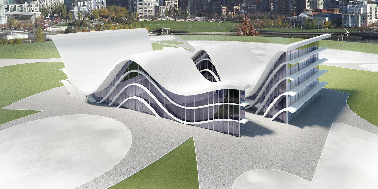 3d model modern futuristic