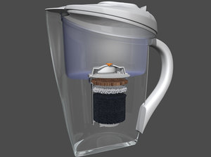 3d filter kettle structure