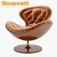 armchair giovanneti jetsons 3d model
