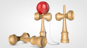 kendama toy c4d