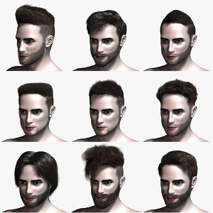 virtual hair 1 3d max
