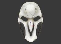 reaper mask papercraft 3d model