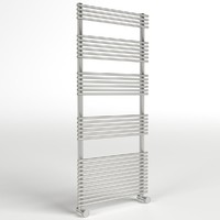 3d model of towel radiator 1