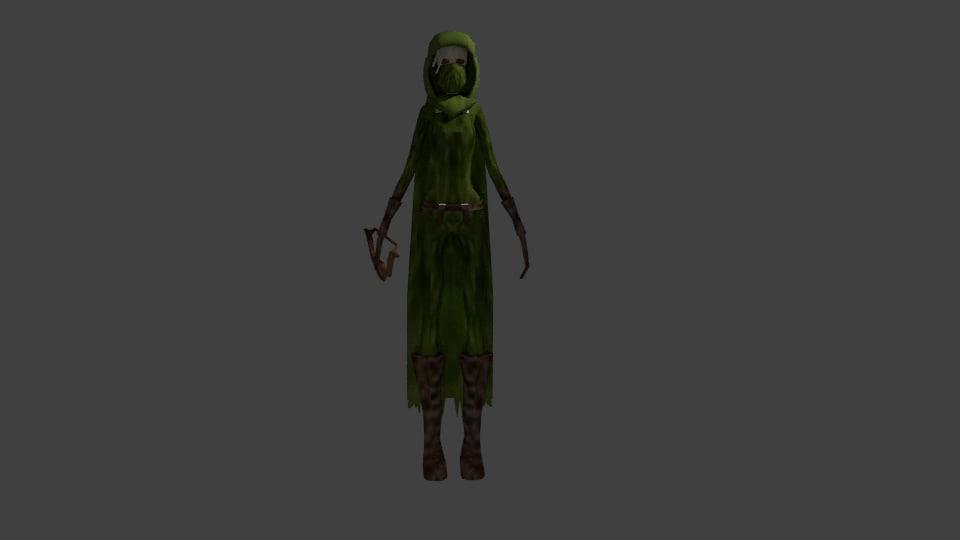 simple archer cloak x