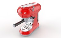 3d smeg coffee maker