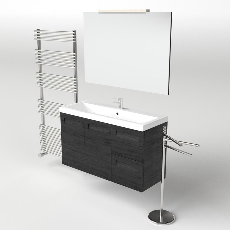fbx scene set washbasin
