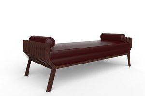 wood sofa max