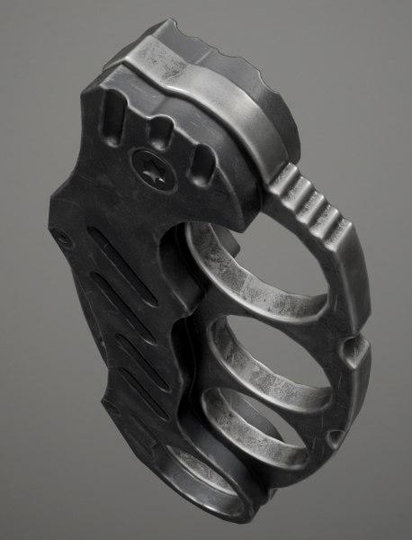 knuckle - games 3d model