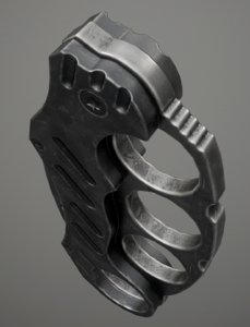 knuckle - games 3d model