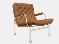 3d karin easy chair bruno model