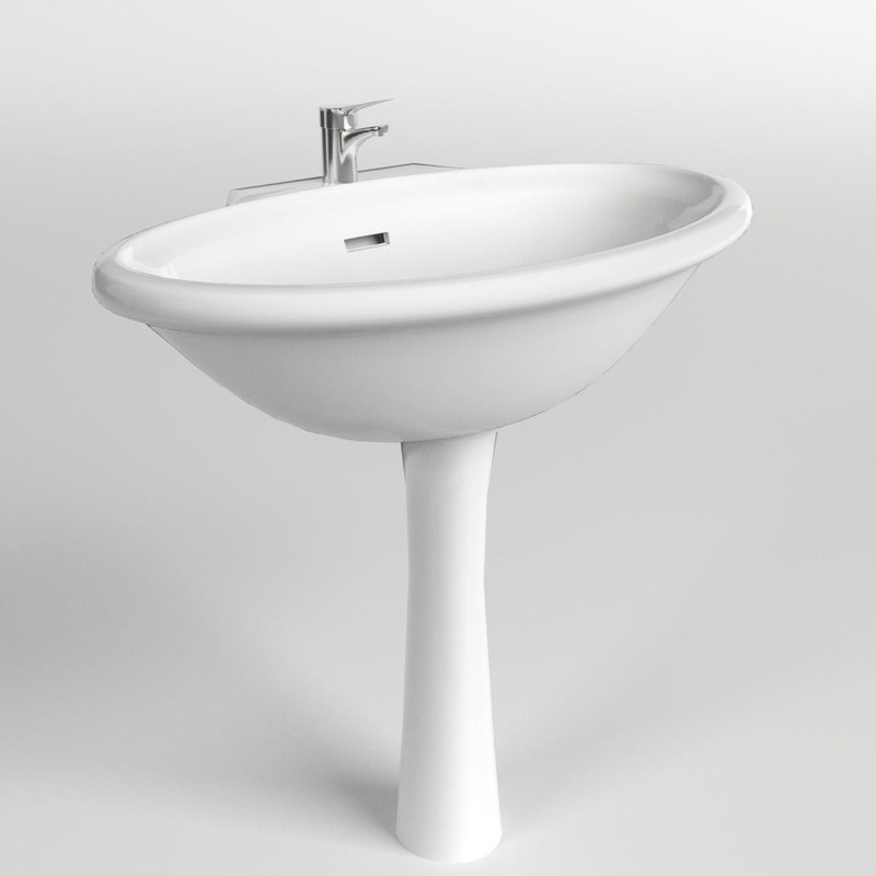 3d model wash basin washbasin