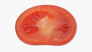 3d tomato slice