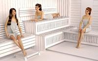 Mannequins Female Sauna