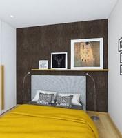 bed bedroom 3ds