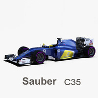 sauber c35 wheels 3ds