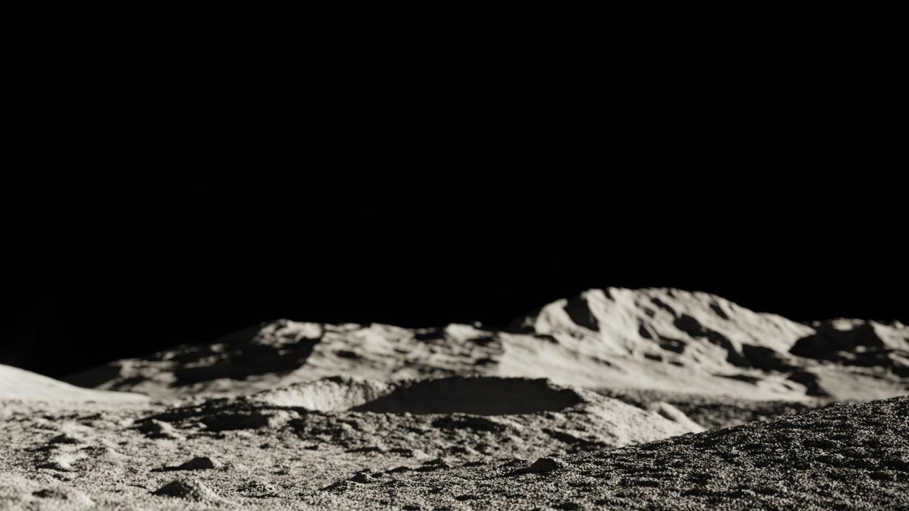 Free Obj Mode Lunar Landscape