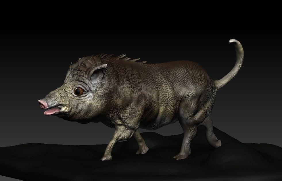 3ds boar