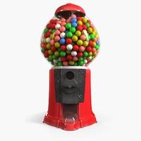 gumball machine 3d model