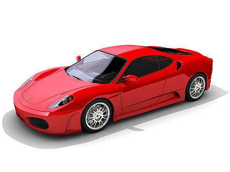 free sedan sport 3d model
