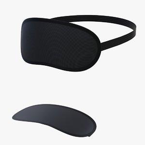 mask sleep 2 3d model