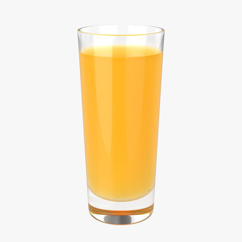 glass juice 3d max