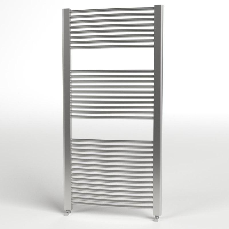 towel radiator 2 3d max