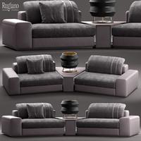 rugiano miami sofa 3d max