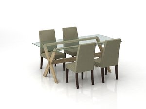 john lewis dining table 3d max