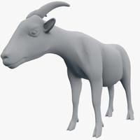 farm goat 3ds