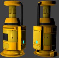 3d generator nrg ready model