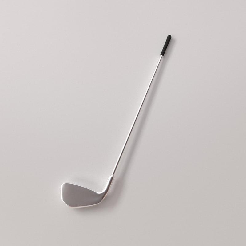 golf club 3d model